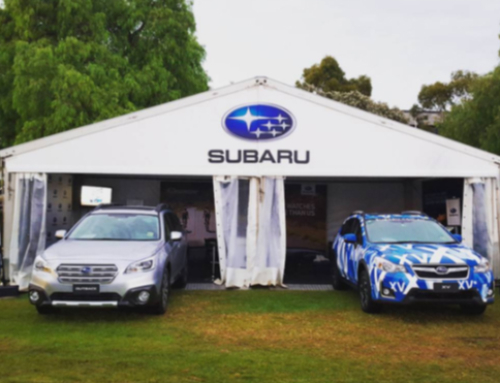 Subaru and DataDot at the Cadel Evans Great Ocean Road Race