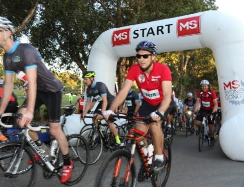 Subaru supporting the MS Sydney to the Gong Ride again in 2016