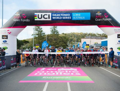 A metre matters as 5,500 riders raise awareness on the Great Ocean Road